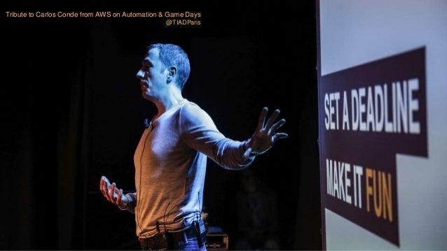 AWS Summit Paris 2017 : Gameday Veolia Slide 3