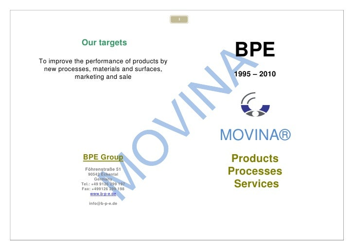 1             Our targetsTo improve the performance of products by                                                 BPE new...
