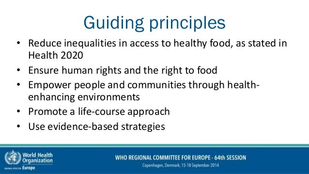 European Food And Nutrition Action Plan 2015 2020