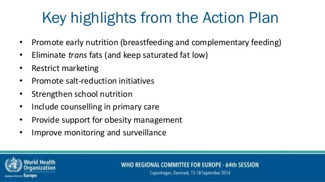 European food and nutrition action plan 2015 2020 - Healthy people 2020 is a plan designed to ...