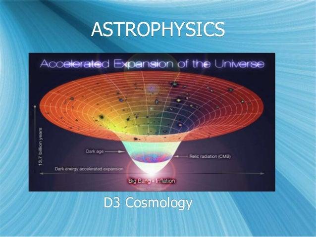 ASTROPHYSICS D3 Cosmology