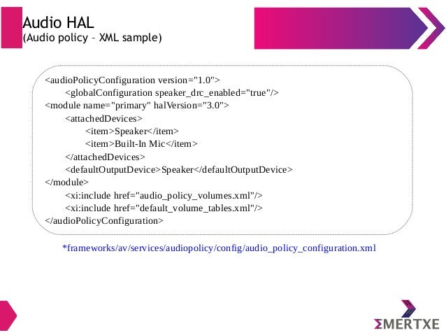 Embedded Android : System Development - Part III (Audio / Video HAL)