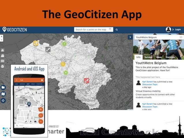 KA2 - 2019-1-BE02-KA201-060212 The GeoCitizen App