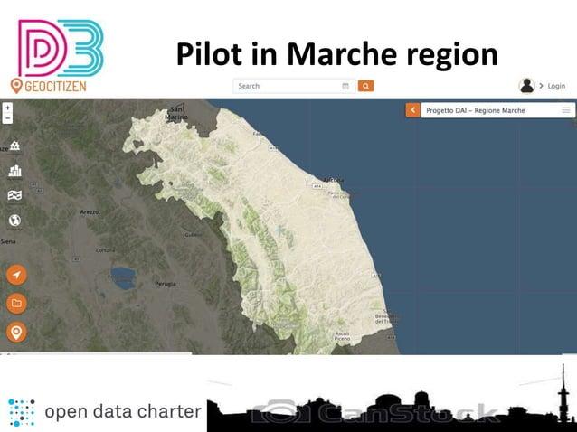 Pilot in Marche region