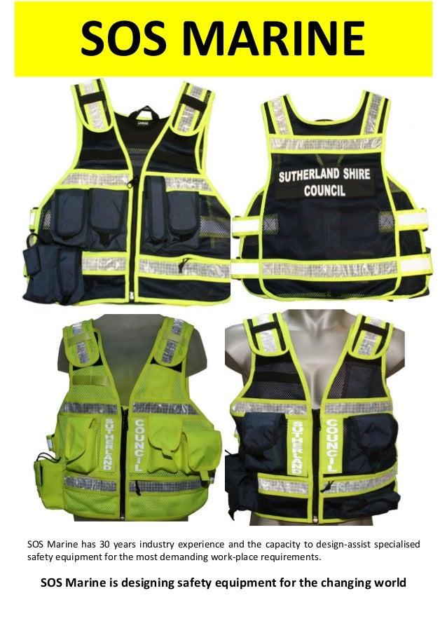 SOS Equipment Vests for local Councils