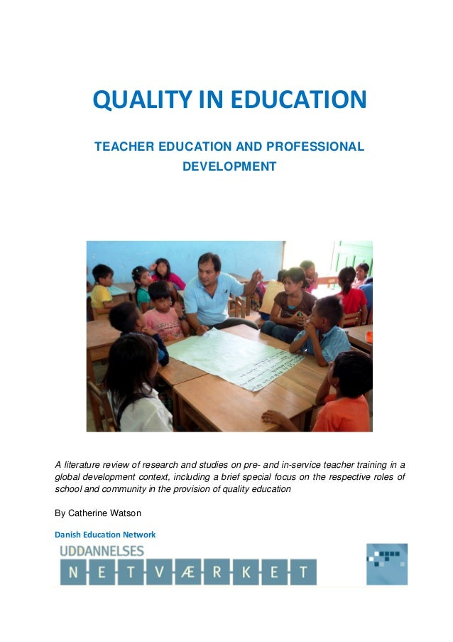 literature review on training and development Training and development among teachers of higher education institutions of madhya pradesh a literature review training and development and quality of work life.