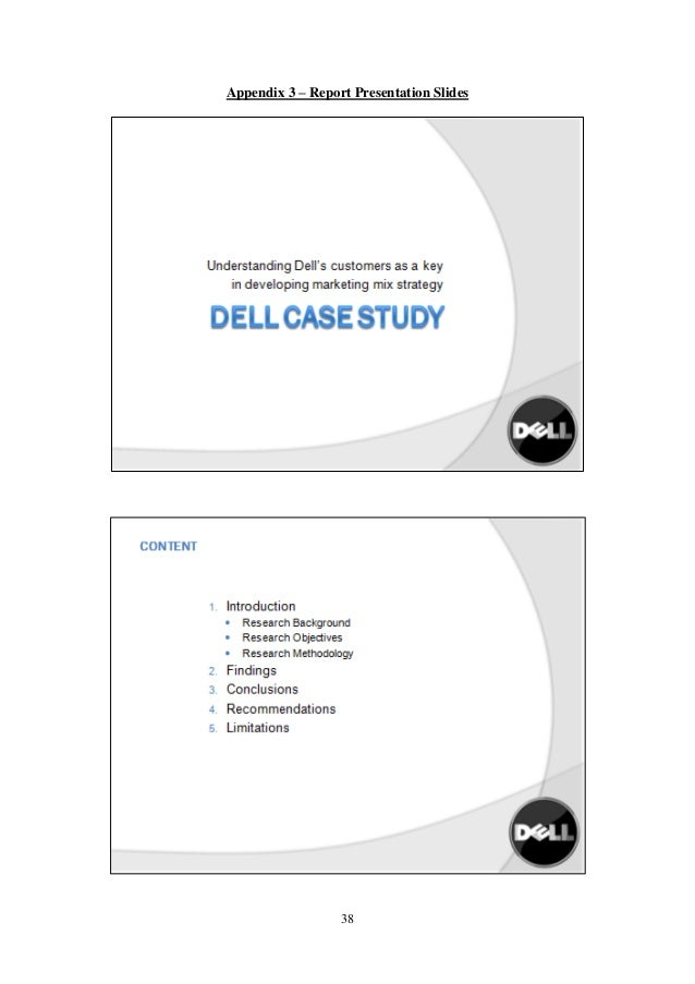 (PDF) MBA Assignment- A Case Study on DELL