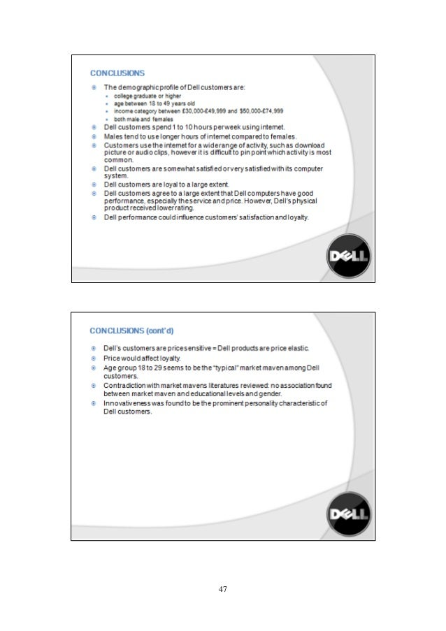 Dell Direct Case Study - SlideShare