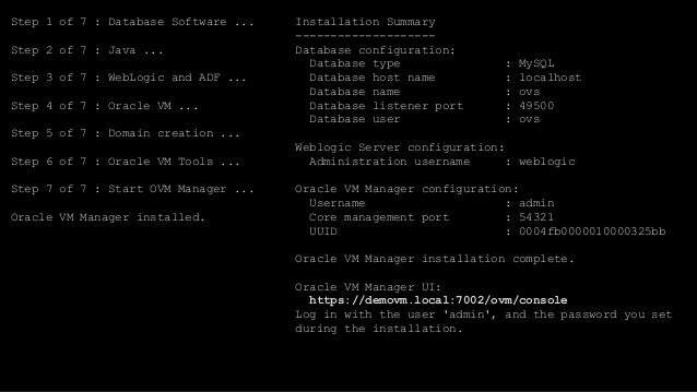 Oracle VM 3 4 1 Installation