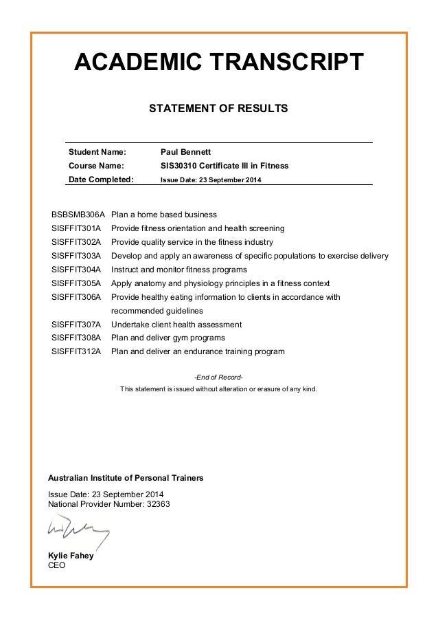 Certificateaipt