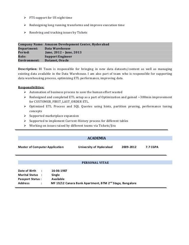 It Analyst Resume samples   VisualCV resume samples database Alib Warehouse Delivery Driver Sample Resume Eating Disorder Therapist