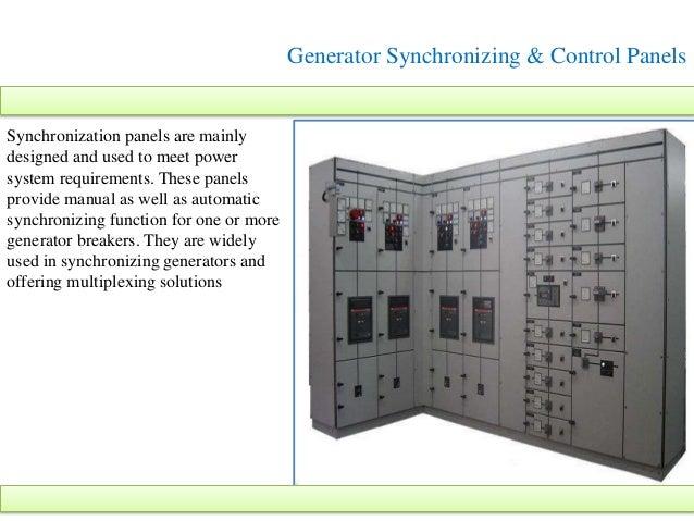 Generator Synchronizing Panel Wiring Diagram : High voltage