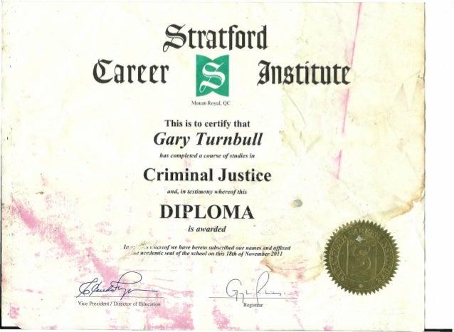 Criminal Justice Certificate
