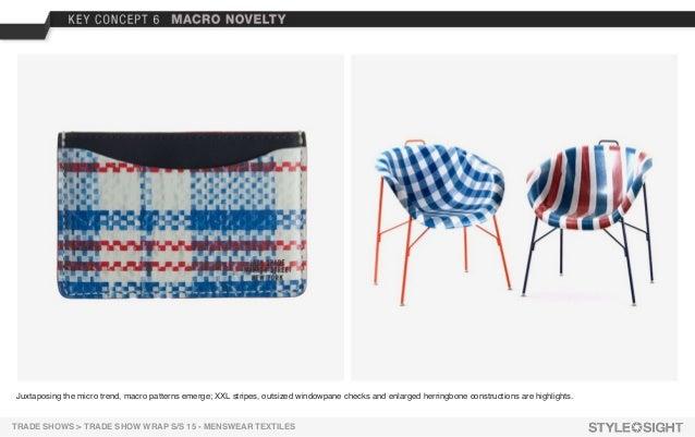 novelty textiles tradeshowwrap mensweartextiles