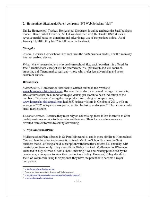 homeschooling research paper