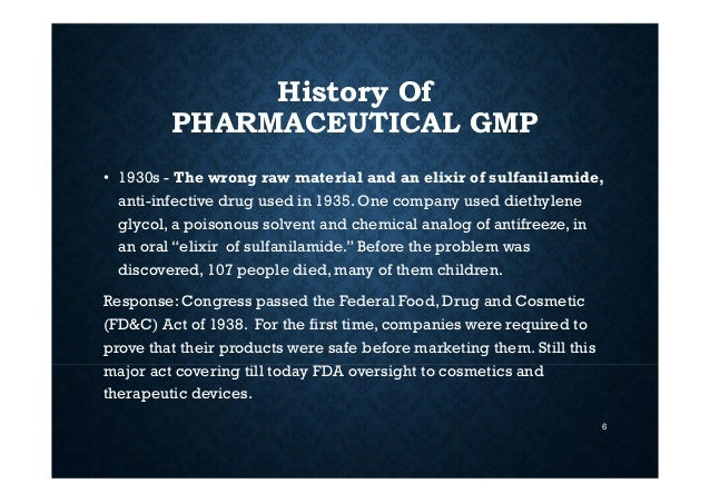 Main problem of generoso pharmaceutical and chemical inc