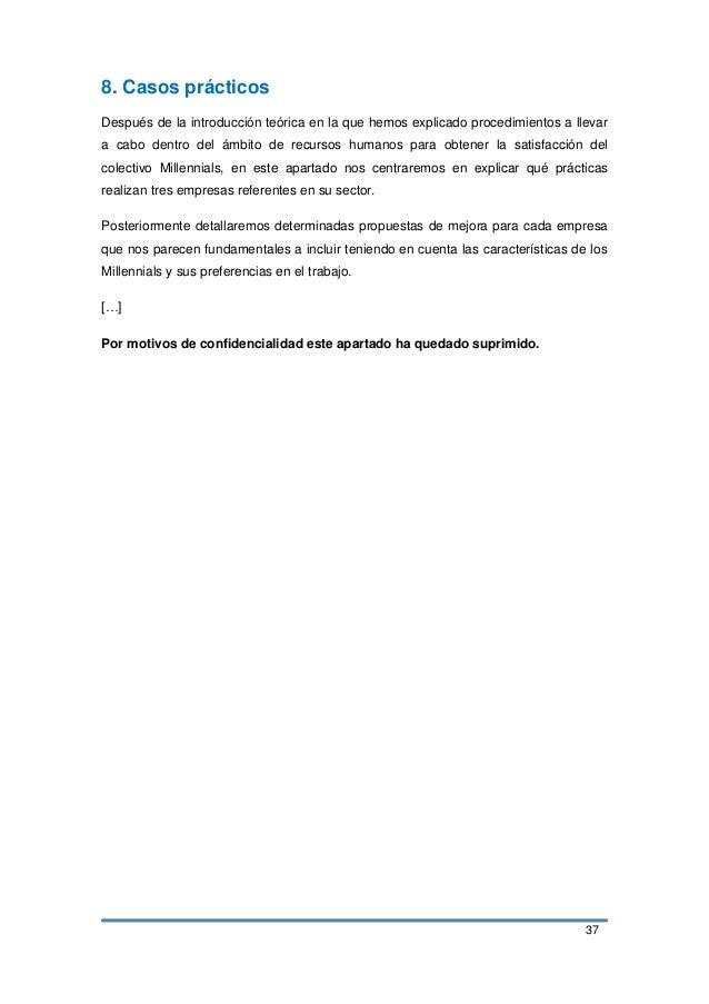 37 8. Casos prácticos Después de la introducción teórica en la que hemos explicado procedimientos a llevar a cabo dentro d...