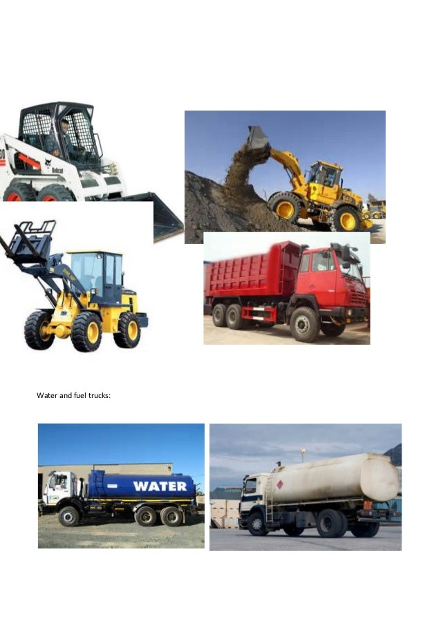 Water And Fuel Trucks: ...