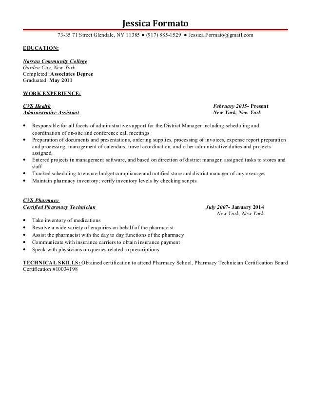Jessica Formato Rx Resume