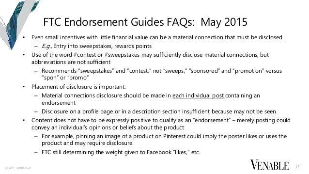 Requirements Enforcement 16 17