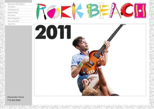 Rock Beach Deck