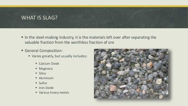 Slag Cement Density : Types of steel slag