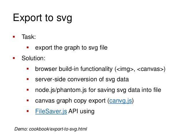 D3 JS Tips & Tricks (export to svg, crossfilter, maps etc )