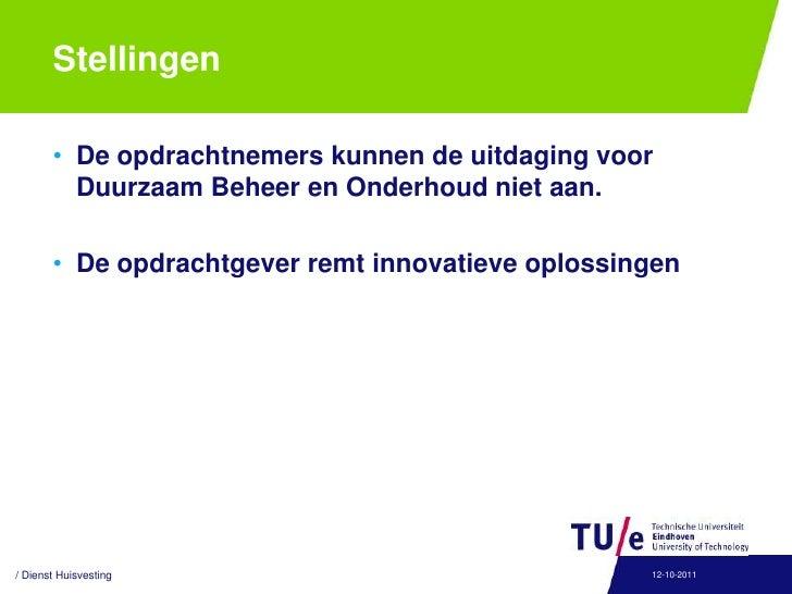 Ondernemend Samenwerken<br />Definitie:<br />Een samenwerkingsvorm tussen de TU/e en uitvoerende partijen onderling om sam...