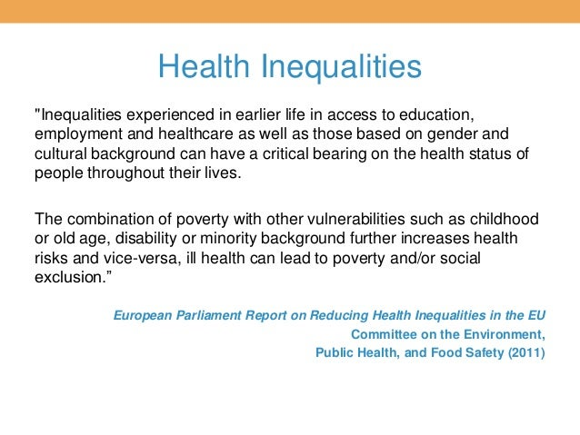 sociology inequalities in health and illness Understanding patterns and trends in health and illness amongst different social groupings  health and illness  poor health because of inequalities .