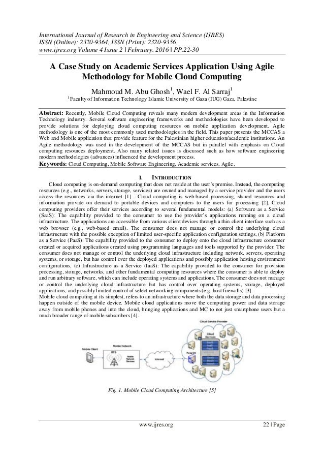 Cloud computing case studies