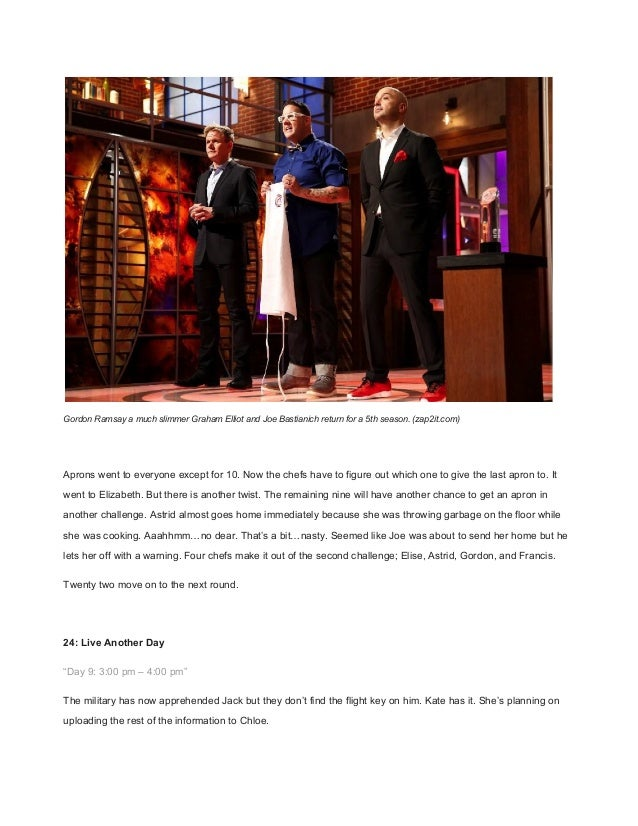 MIDWEEK CHECK IN – MASTERCHEF RETURNS, TEARY REUNION IN 24