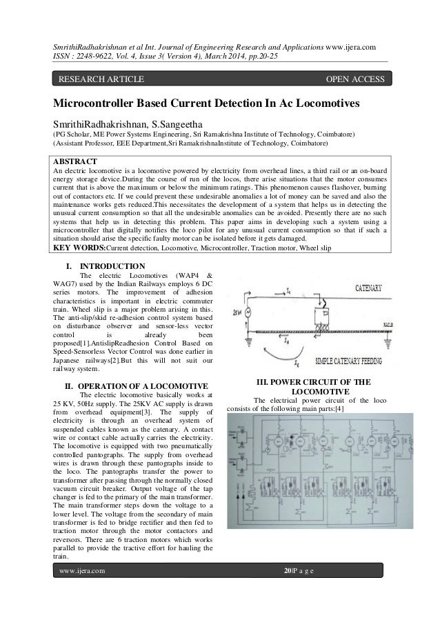 SmrithiRadhakrishnan et al Int. Journal of Engineering Research and Applications www.ijera.com ISSN : 2248-9622, Vol. 4, I...