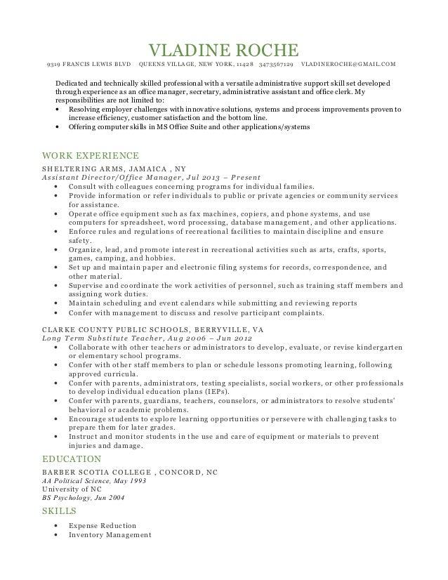 vladine Roche Resume