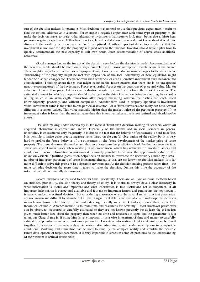 Development study on indonesia