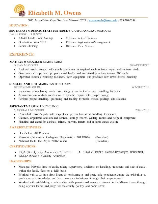 2015-16 Resume