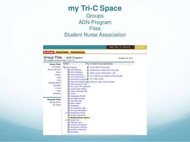 my tri c space Tri-C SNA