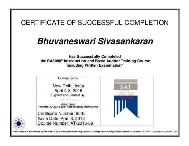 sai basic certificate of course completion_ bhuvaneswari sivasankaran
