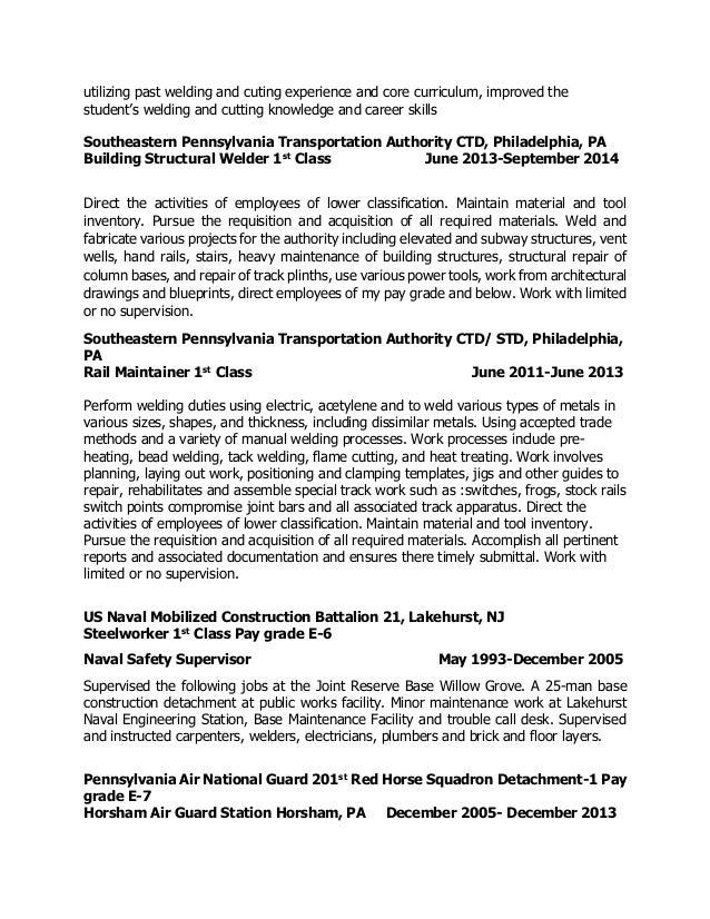 Welders Resume | Resume Cv Cover Letter