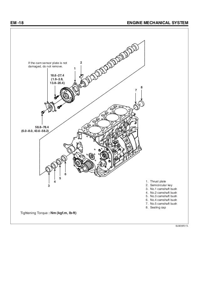 hyundai d4dd engine manual sudem7016l 18 em 18 engine mechanical system 1