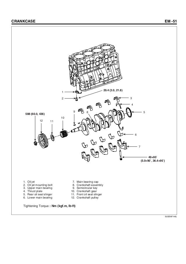 Hyundai D4dd Engine Manual on connecting rod cap
