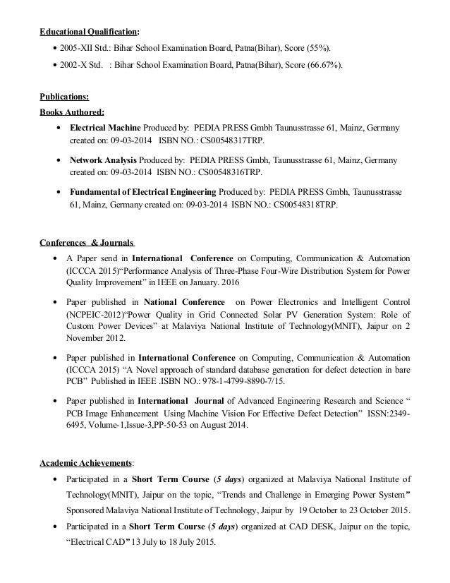 Network engg resume