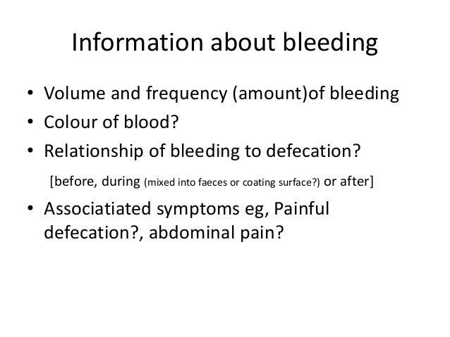 Lower gi bleed neo