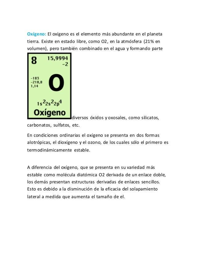 Tabla periodica grupo de oxigeno images periodic table and grupos de la tabla periodica oxgeno flavorsomefo images urtaz Choice Image