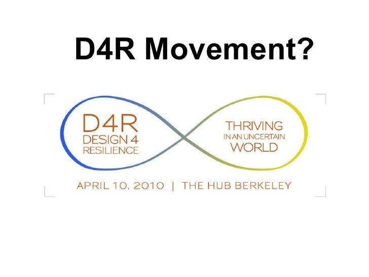 D4R Movement?