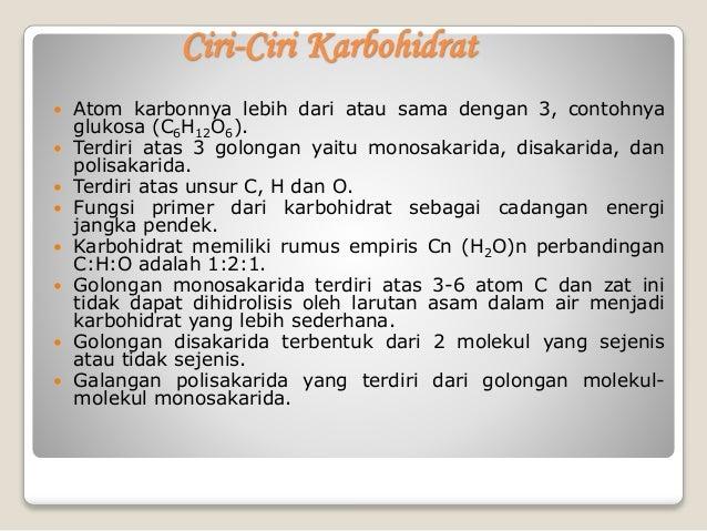Karbohidrat kelompok a Kimia FMIPA UHO