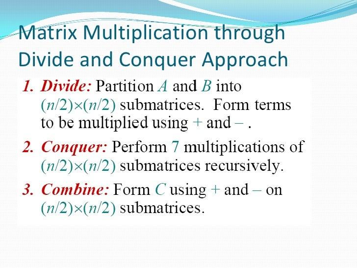 divide and conquer algorithm tutorial
