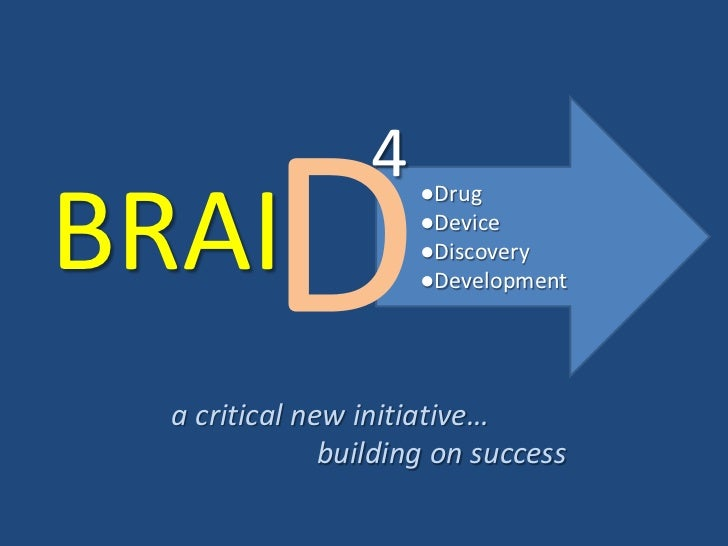 4BRAI                      ●Drug                      ●Device                      ●Discovery                      ●Develo...