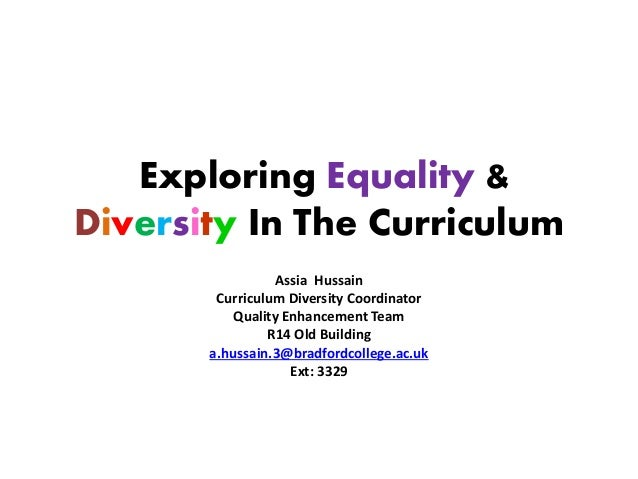 FE data library: equality and diversity