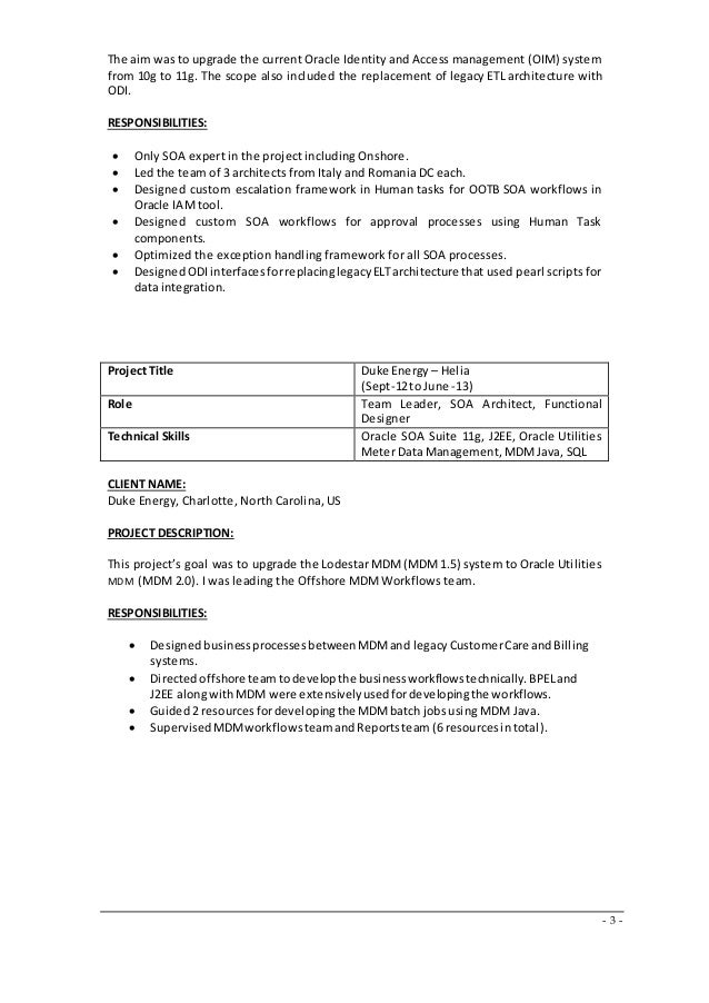 identity management resume resume