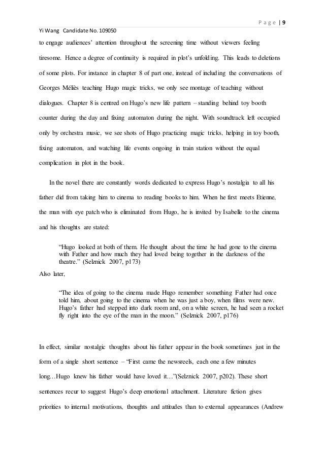 adaptation essay   9